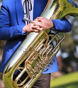 Radeberger Musikanten Tuba